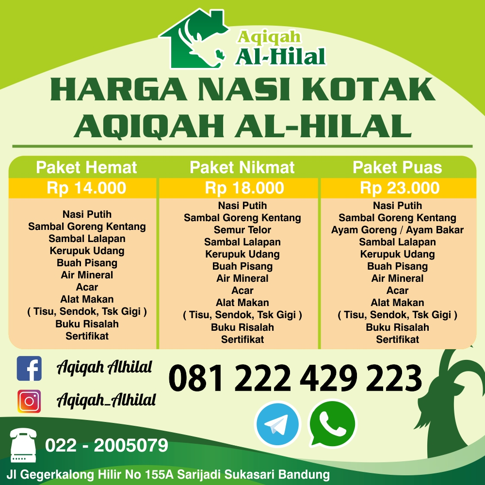 Aqiqah Bandung, Aqiqah Cimahi