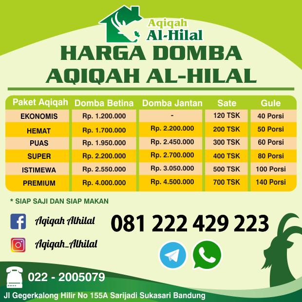 Harga Kambing Aqiqah Bandung