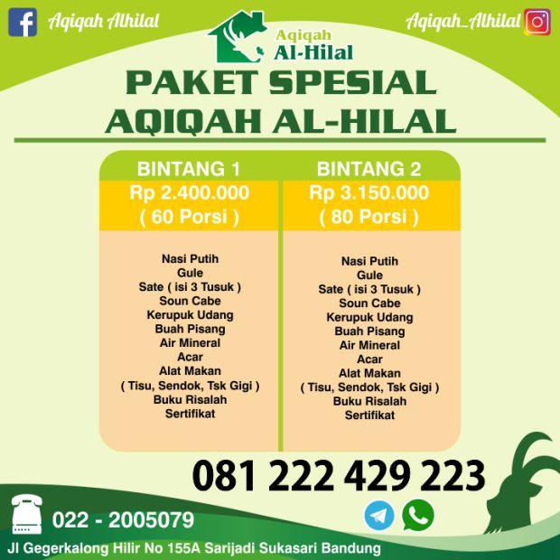 Paket Spesial Aqiqah Bandung