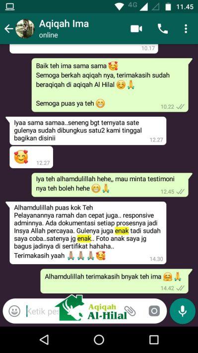 Harga Paket Aqiqah Bandung 2019, Murah, Nikmat dan Gratis Ongkir 5