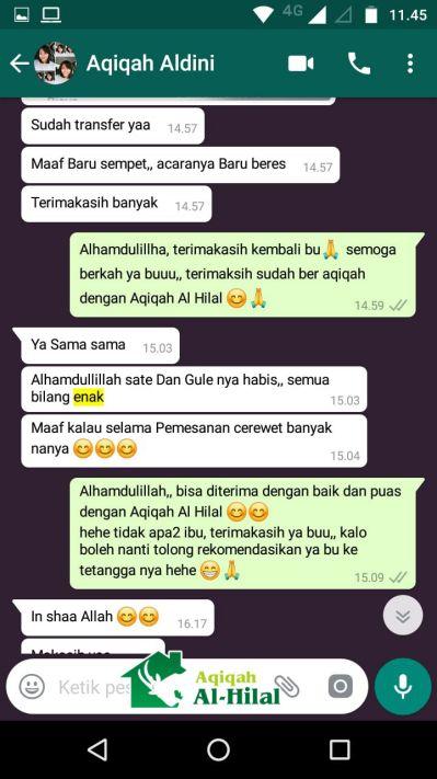 Harga Paket Aqiqah Bandung 2019, Murah, Nikmat dan Gratis Ongkir 3