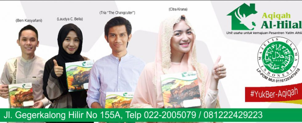 Slider Aqiqah Bandung Alhilal 1