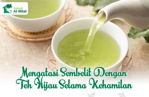 teh hijau dapat mengatasi sembelit saat hamil