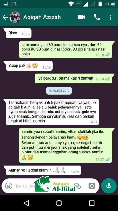 Aqiqah Bandung Terbaik & Berkualitas, Enak dan Bersertifikat MUI 4