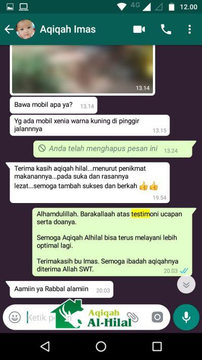 Aqiqah Bandung Terbaik & Berkualitas, Enak dan Bersertifikat MUI 7