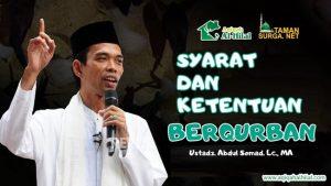 Ketentuan dan Syarat Qurban Idul Adha