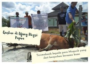 Qurban di Ujung Negri Papua