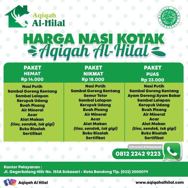 Paket Nasi Kotak Aqiqah Bandung