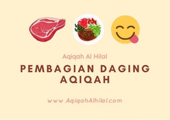 Pembagian daging aqiqah