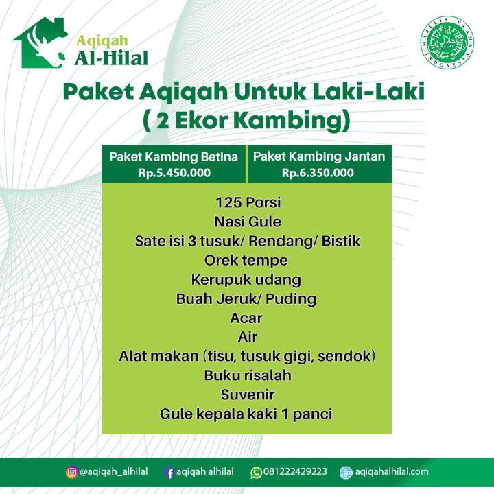 Aqiqah Bandung Berkualitas 2021, Enak dan Bersertifikat MUI