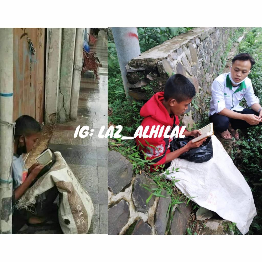 Anak Pemulung Baca Al Quran di Jalan Braga ditemukan di Lembang KBB, Viral di Medsos