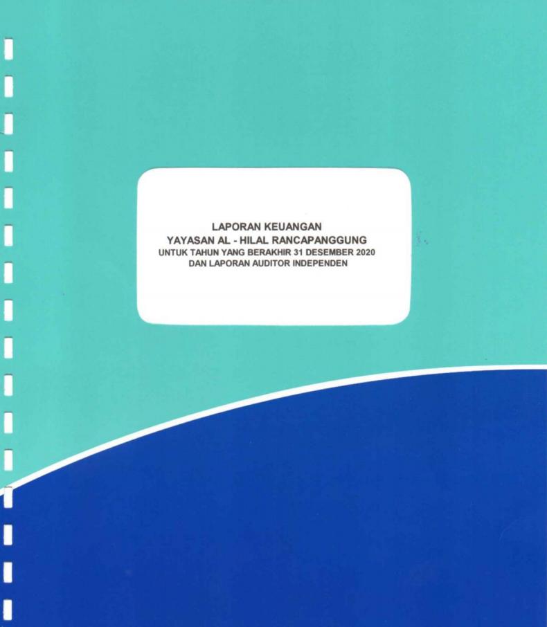 Laporan Keuangan Yayasan Al Hilal Meraih WTP Tahun 2020