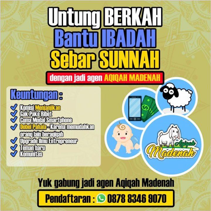 Dibuka, Keagenan (Mitra) Aqiqah al-Hilal Bandung